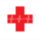 Red first aid cross