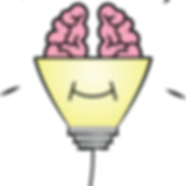 Auism Academy Pink Brain Bulb