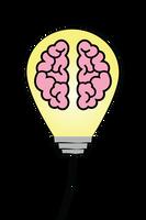 Autism Academy Pink Brain Bulb
