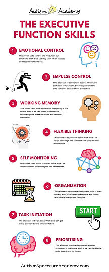 The Executive Function Skills Infographic