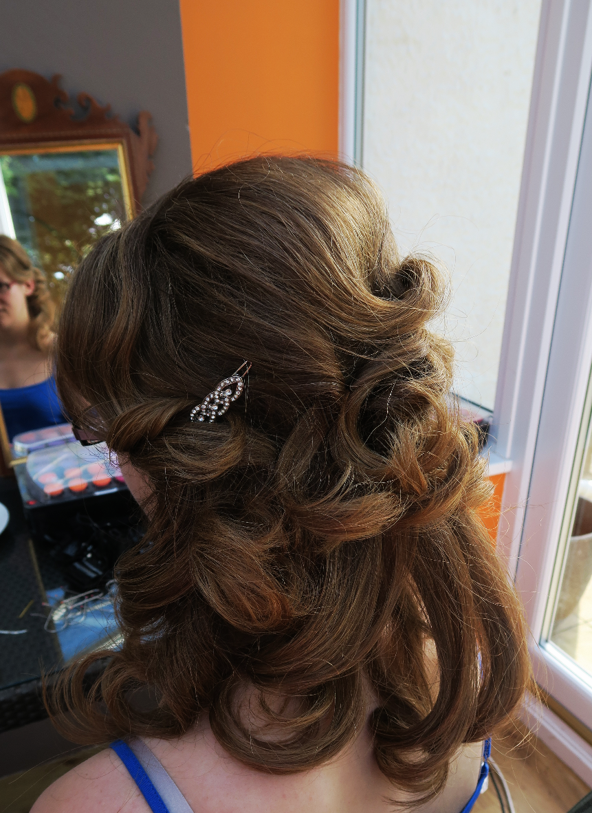 Wedding hair in Edinburgh