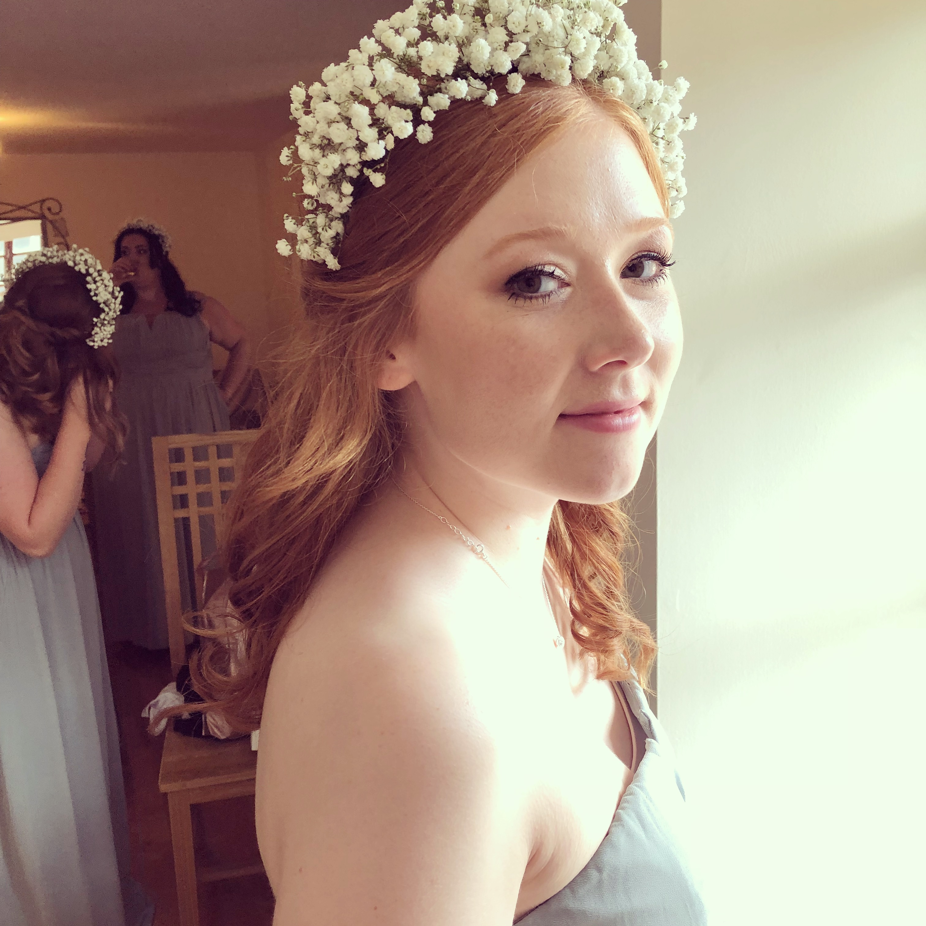 romantic bridal hair & makeup edinburgh