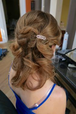Circles Bridal hair Edinburgh