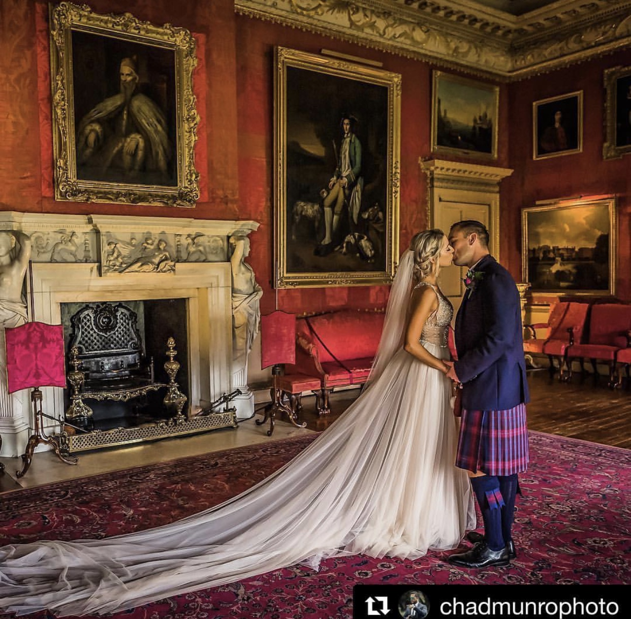 Hopetoun House Wedding Edinburgh