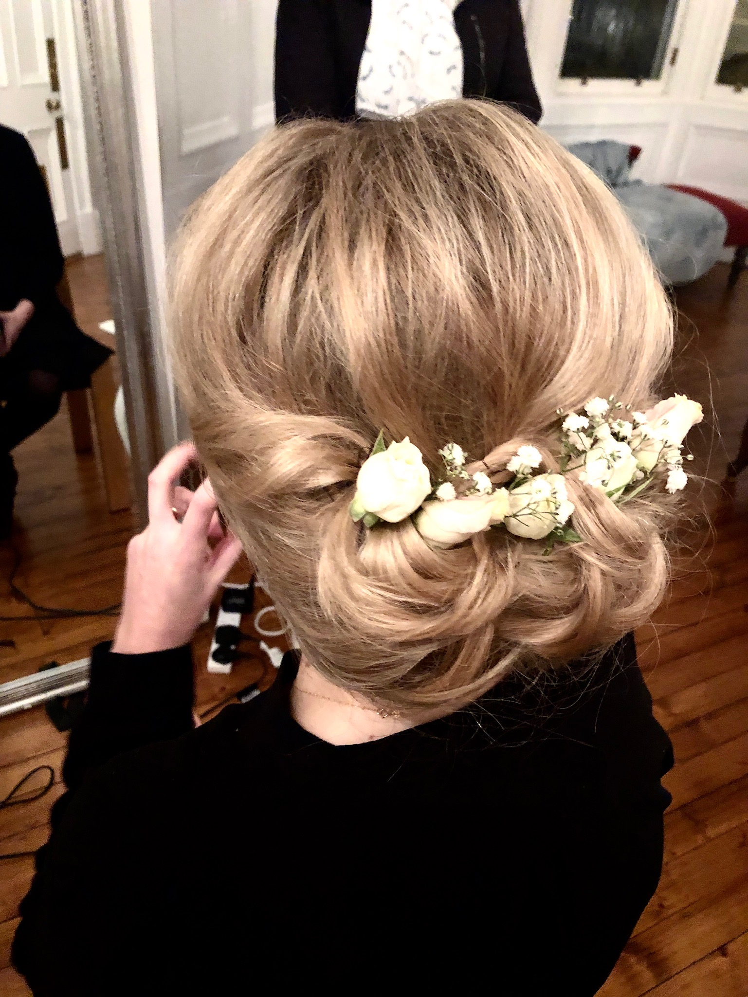 Edinburgh Wedding hair and makeup