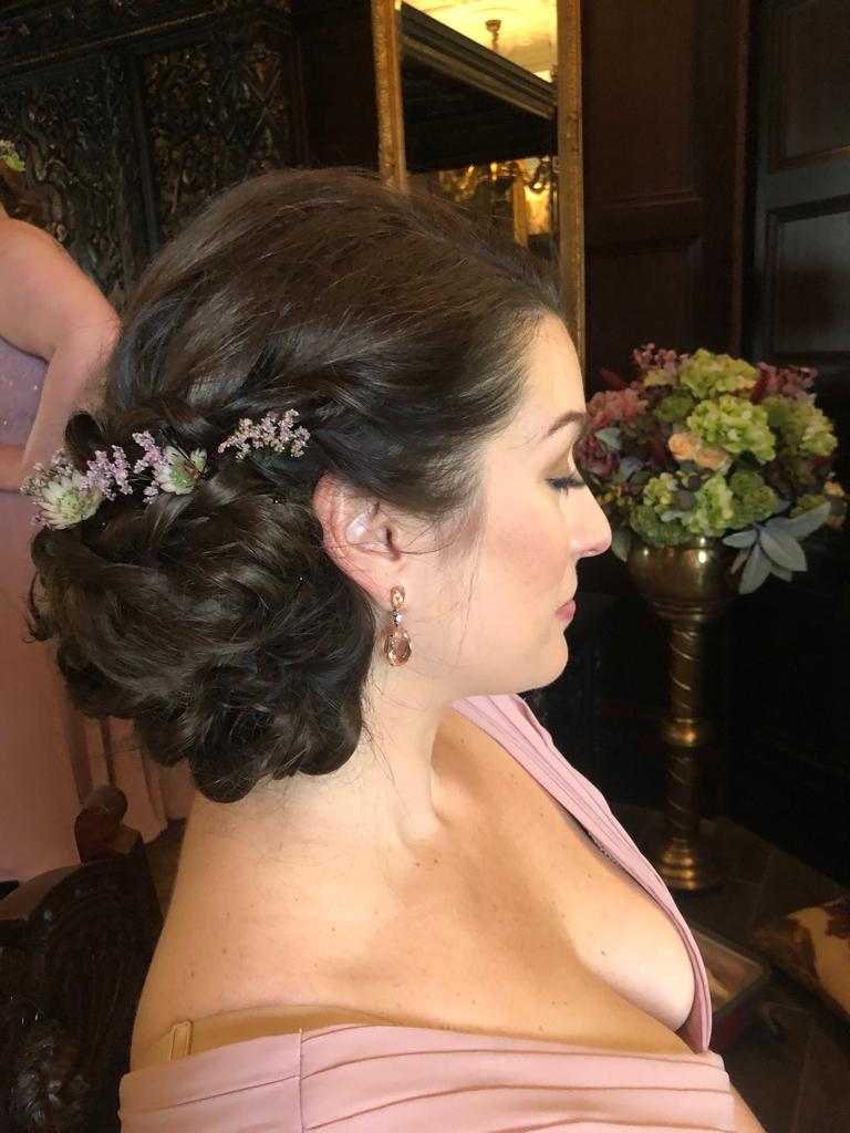 Braided Bridal hairstyling