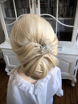 Soft Undo Bridal hair and Makeup Edinburgh