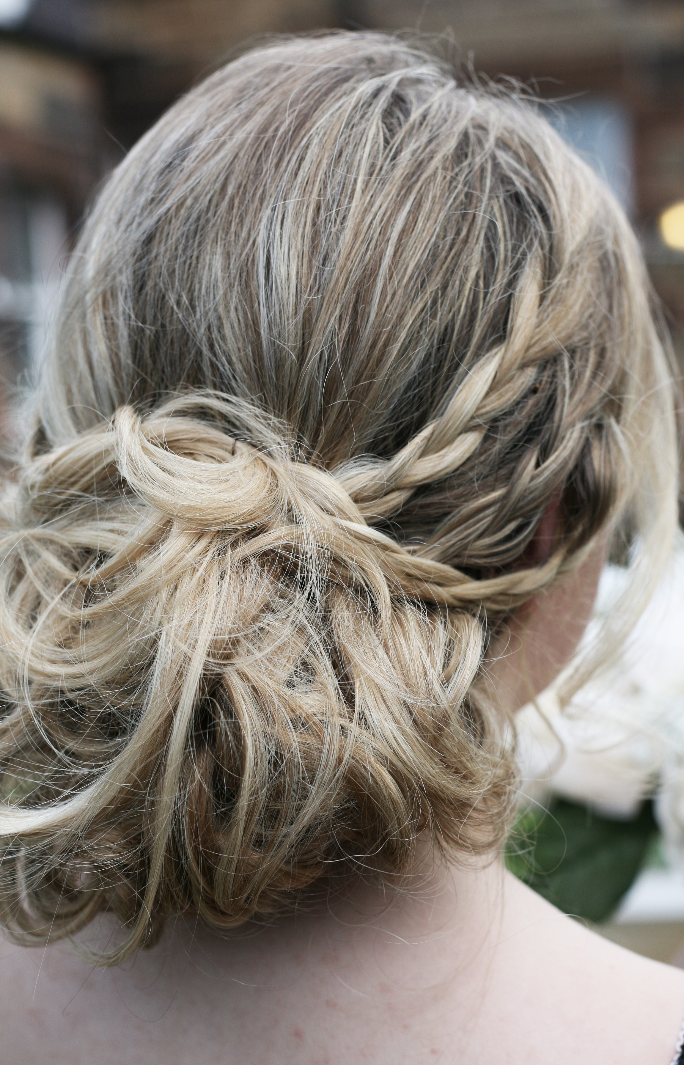 braided bridal hairstyle edinburgh
