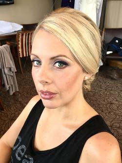 Bridal blonde hair & makeup edinburgh