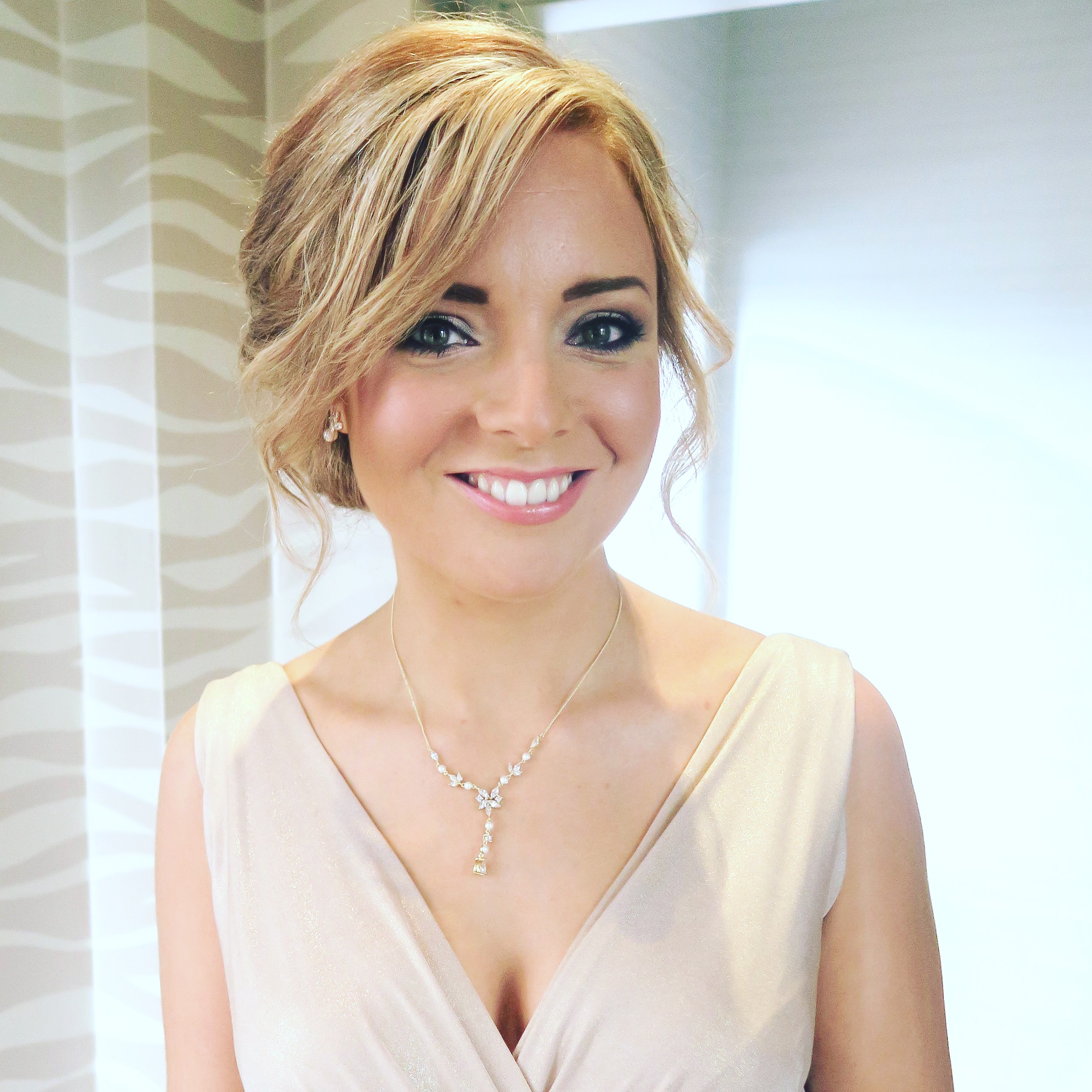 Edinburgh wedding hair & makeup