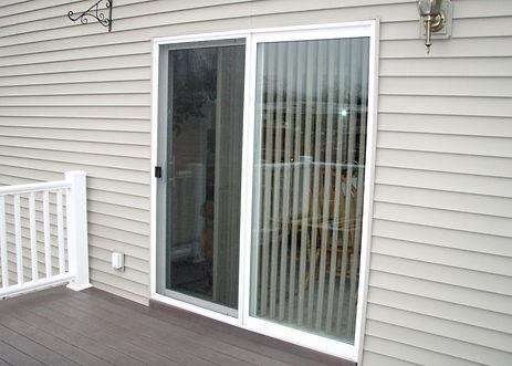new patio doors and siding