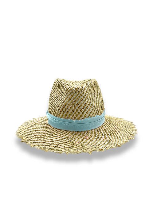 Chapeau de paille Saint Tropez Azur