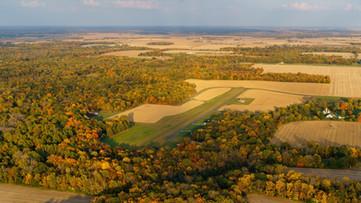 20201011.Timberhouse fall colors aerial