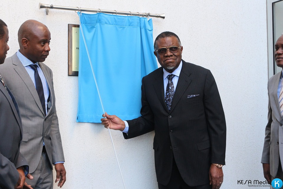 New Roads Authority Building Unveiling 2019