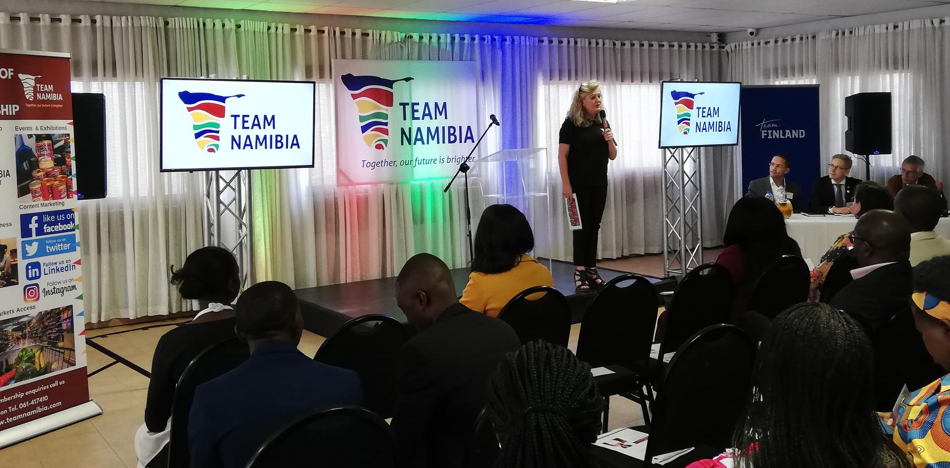 Team Namibia Lion's Den Event 2019