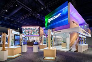 Qualcomm CES Booth