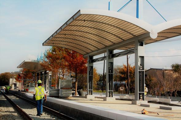 Rowllett, TX Train Station
