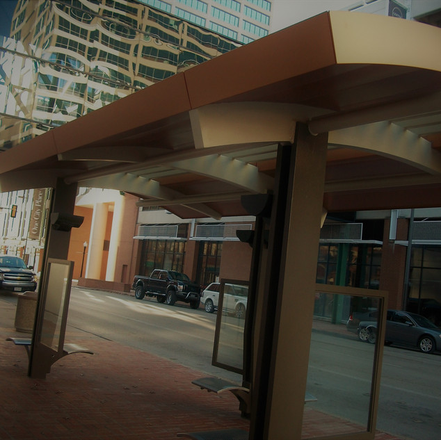 Downtown Fort Worth Bus Shelter