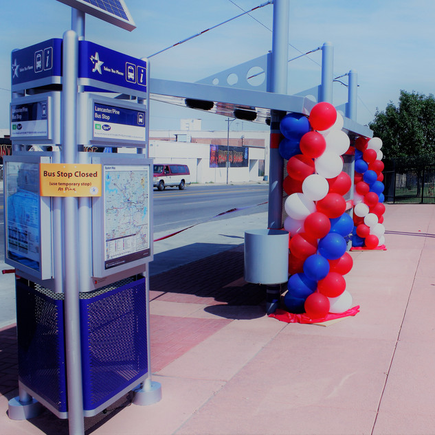 Bus Shelter Grand Opening - Fort Worth, Texas