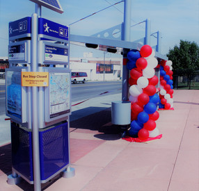 Bus Shelter Grand Opening - Fort Worth, TX