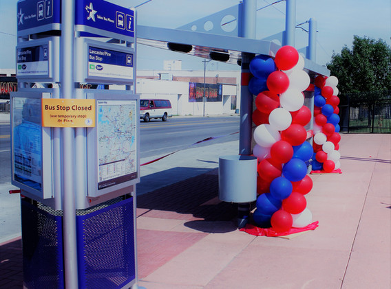 Grand Opening Bus Terminal - Fort Worth,