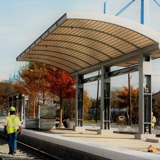Rowlett, Texas Train Station