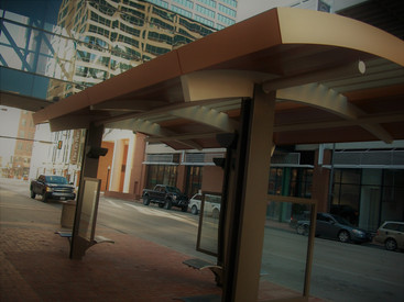 Bus Shelter - Downtown Fort Worth, TX