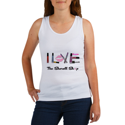 I Love The Sherell Shop Graphic Tank