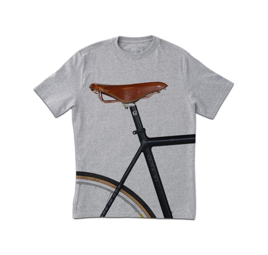 Bike Seat Print T-Shirt