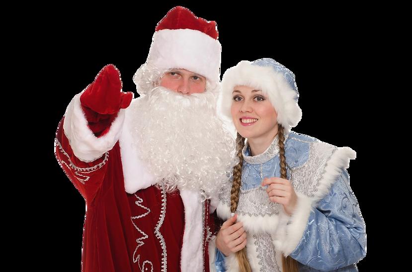 Заказ Дед Мороза и Снегурочки для детей в Москве на дом