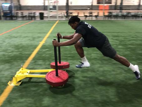 40 Yard Dash: Stance & Start