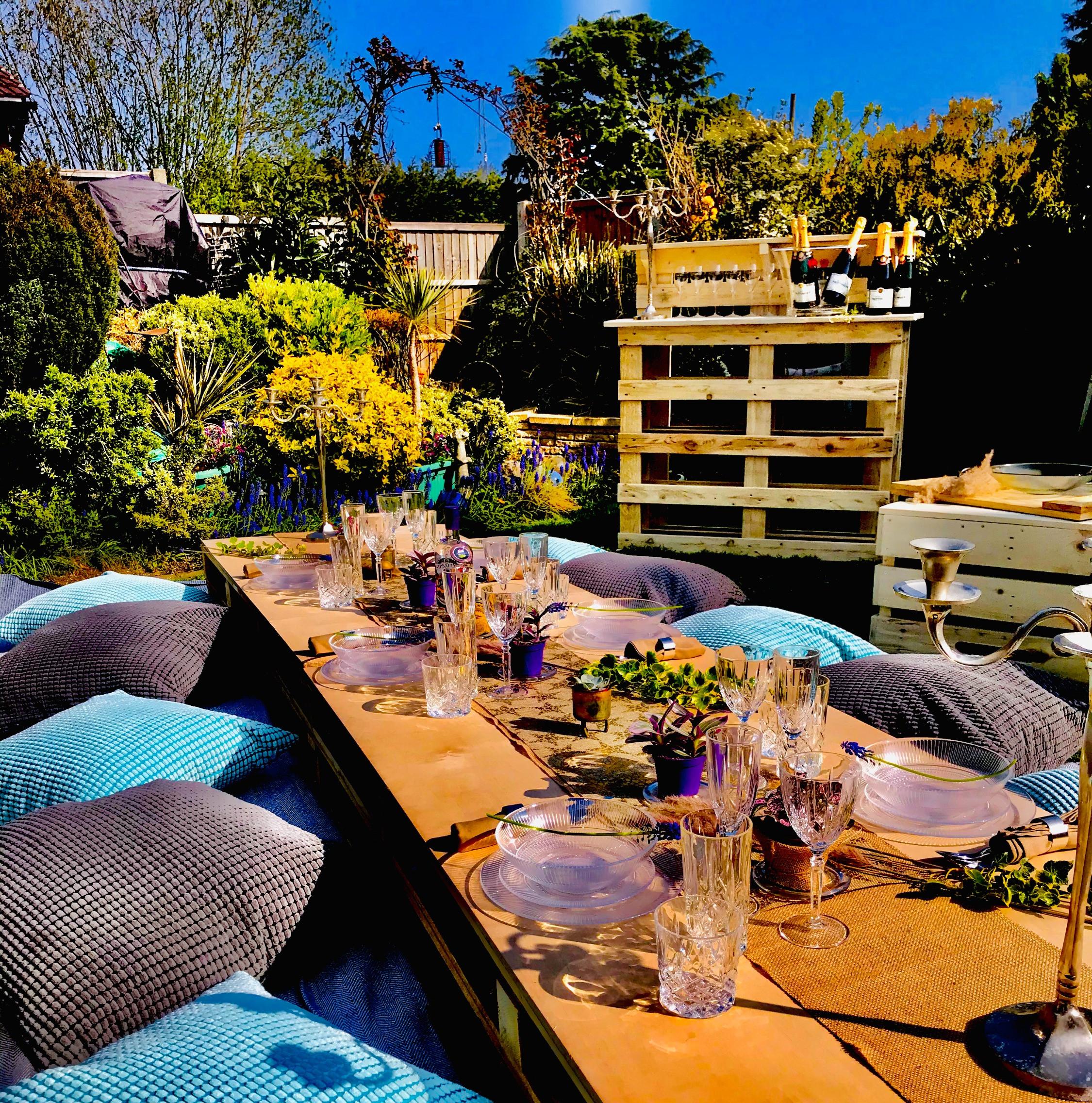 Full Hire - LA Boho Garden Experience