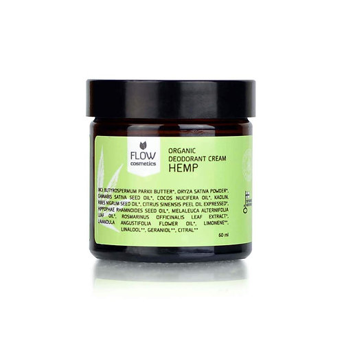 Hemp Deodorant Cream 大麻籽天然止汗膏 60ml