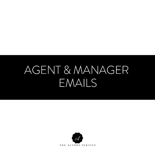Agent & Manager Emails