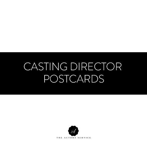 Casting Director Postcards