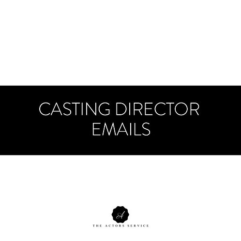 Casting Director Emails