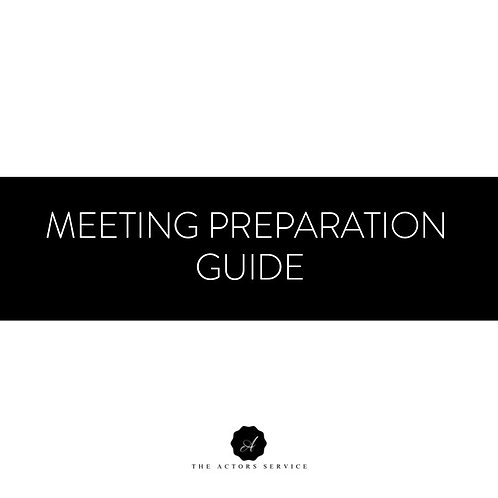 Meeting Preparation Guide