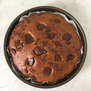 Torta goccia di cioccolato