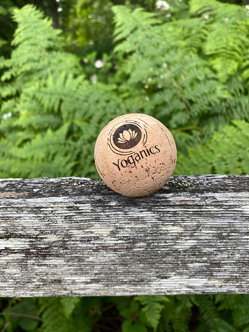 Yoga Massage Ball - Natural Cork Ball -  Self CareTool