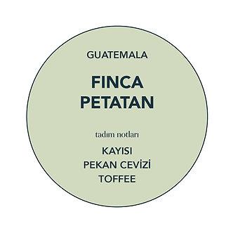 GUATEMALA, FINCA PETATAN (WASHED)