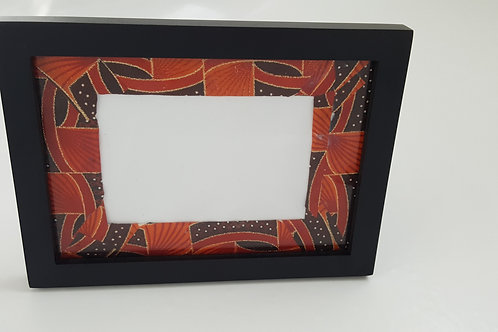 The Sunrise/Sunset African Print Picture Frame