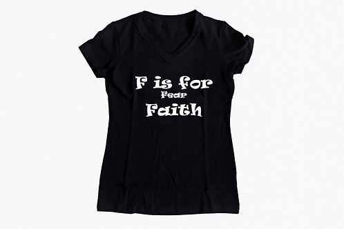 F is for Faith tee