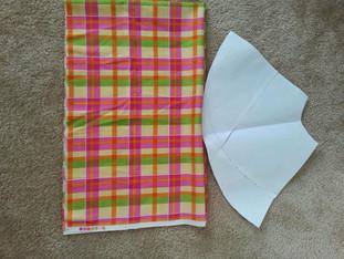 DIY: Girls Jumper Skirt