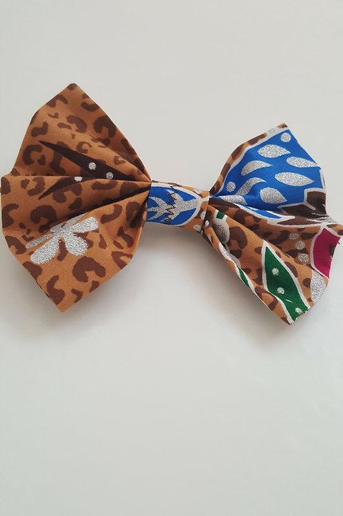 The Kion African Print Hair Bows