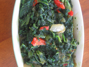 DIY: Low carb spinach sauce