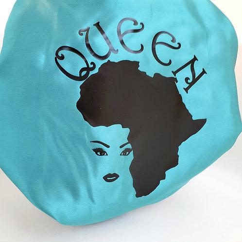 African Queen Adult Satin Bonnet