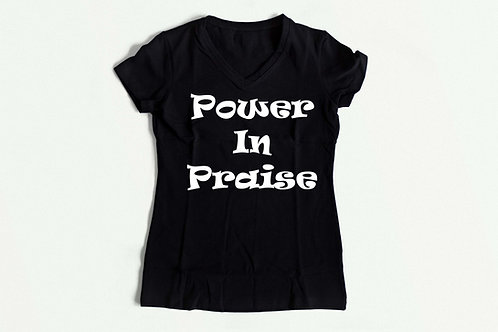 Power in Praise tee