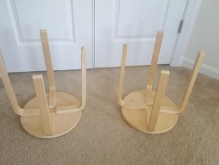DIY: Easy Boho End tables/stool