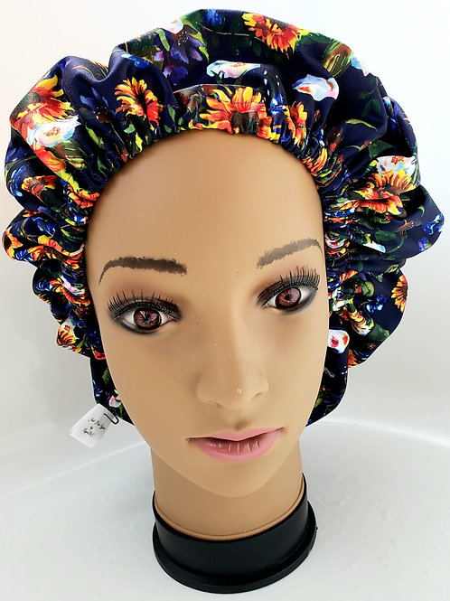 African Daisy Shower Cap - adult