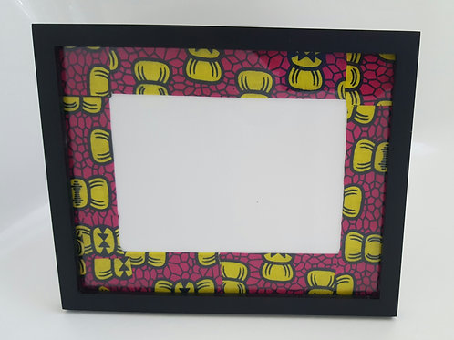The Everest African Print Picture Frame